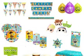 Pack Cotillón Toy Story  6 Personas