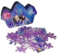 Puzzle 3 Caja Metalica Piramide Frozen
