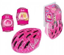 Casco C/Acc Barbie (Rodillera Y Codera)