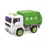 Camion C/Luz Y Sonido Recolector Basura