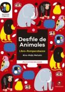 Desfile de animales. Libro rompecabezas