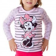 Camiseta acqua Protección UV Minnie Manga Larga