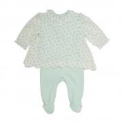 Osito Bebe Niña Verde Pillin PVS206VER
