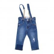 Jeans Suspensores Bebe Niño Denim Pillin PVS715DEN