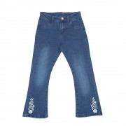 Jeggings Flare Niña Denim Pillin PVS718DEN