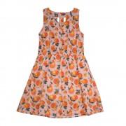 Vestido Frutas Niña Rosado Pillin PVS839ROS