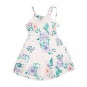 Vestido Flores Niña Celeste Pillin PVS840CEL