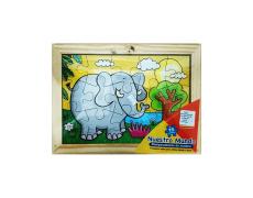 Rompecabezas Elefante