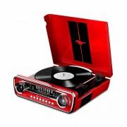 Tornamesa MUSTLP, radio, USB, Mustang 65