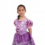 Disfraz Deluxe Rapunzel - Niñas 4 A 5 Años - Disney Pronobel