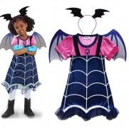Disfraz Vampirina - Brilla En La Oscuridad Niñas 4 A 6 Años