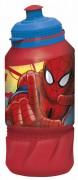 Spiderman - Botella Deportiva - 420 Ml - Intek - Marvel