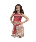 Disfraz Moana - Niñas 4 A 5 Años -Pronobel - Disney