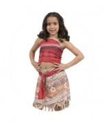 Disfraz Moana - Niñas 6 A 7 Años -Pronobel - Disney