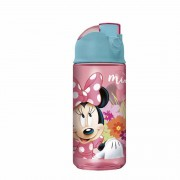 Minnie - Botella - Flip Top - 455 Ml - Disney - Intek